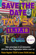 4th Annual TAU 5K Run | 1st Annual 5K Virtual Run