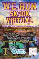6th Annual HAFI W.E. Run 5K|   2nd Annual HAFI W.E. Run 10K