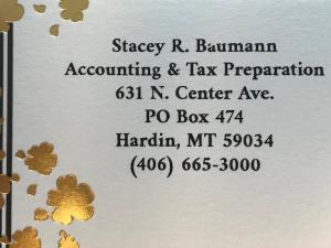 Stacey Baumann Accounting &Tax Preparation
