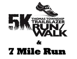 Trailblazer 5k Run/Walk and 7 Mile run
