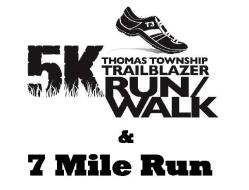 Trailblazer 5k Run/Walk and 7 Mile run