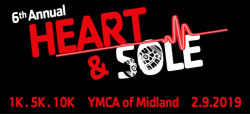 6th annual YMCA of Midland Heart & Sole 1.5.10K