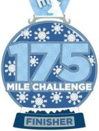The Magical Winter 175 Mile Virtual Challenge