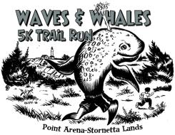 Waves & Whales 5K Trail Run