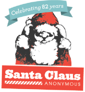 Image result for santa claus anonymous