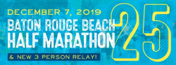 Baton Rouge Beach Half Marathon & NEW 3 Person Relay