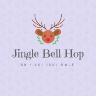 VIRTUAL- Christmas Eve Jingle Bell Hop - 5k, 8k, 10k & Half Marathon- ANYWHERE