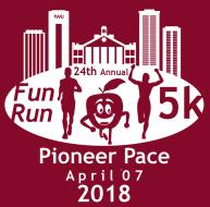 Pioneer Pace 5k Fun Run/Walk