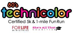 80s Technicolor 5k & 1 mile Fun Run