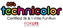 Technicolor 5k & 1 mile Fun Run