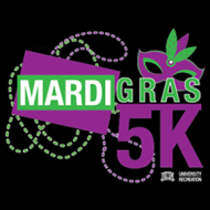 Mardi Gras 5K Race at the University of West Georgia Athletic Complex