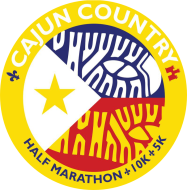 Cajun Country Run (1/2 Marathon, 10k & 5k) 2019