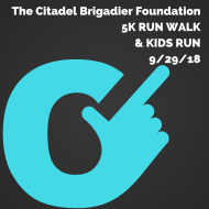 Citadel Brigadier Foundation 5K RUN/ WALK & KID'S RUN