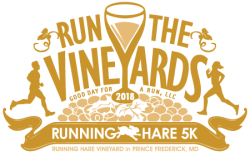 Run the Vineyards - Running Hare 5K (Saturday)