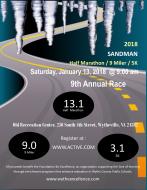 9th Annual SANDMAN Extreme - Half Marathon/9 Miler/5K