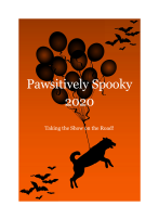 Pawsitively Spooky Virtual 5K/1 Mile Fun Run