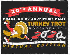 2020 Turkey Trot for The Brain Injury Adventure Camp-Virtual Edition