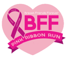 BFF Pink Ribbon Run Logo