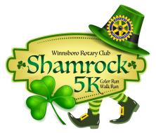 Winnsboro Rotary Shamrock 5K Color Run/Walk