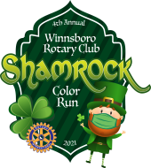 Winnsboro Rotary Shamrock 5K Color Run/Walk