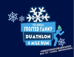Frosted Fanny Duathlon and Road Run