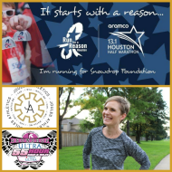 Joules Athletics Warrior 100 Miler Houston Strong Snowdrop
