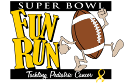 VIRTUAL Super Bowl Fun Run - Tackling Pediatric Cancer