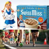 Swiss Miss Hot Cocoa 5k Race and 1 mile fun run