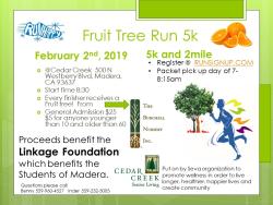 Fruit Tree Run 5k