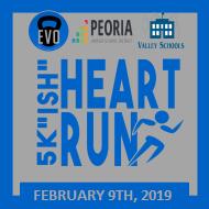 "5k ""ish"" Heart Run"