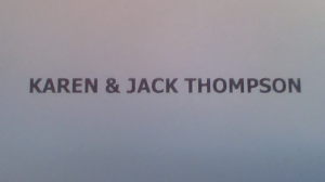 Karen & Jack Thompson