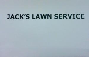 Jack's Lawn Service