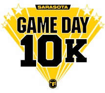 Game Day 10k Run and 5k Run Logo