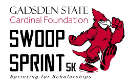 Gadsden State Cardinal Foundation Swoop Sprint 5K