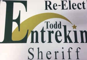 Re-Elect Todd Entrekin Sheriff