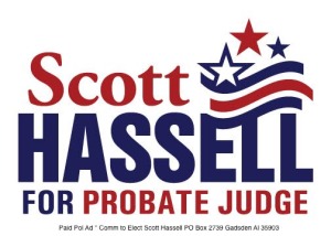 Scott Hassell for Probate Judge