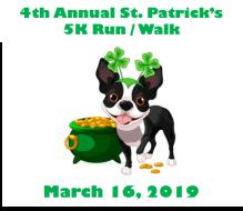 4th Annual St. Patrick's 5K Run/Walk