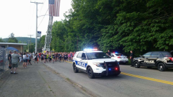 Oil City Police Department- Back The Blue 5K (Blue GLOW RUN)