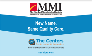 The Center for Advanced Orthopaedics - MMI
