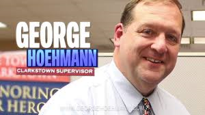 Clarkstown Supervisor George Hoehmann