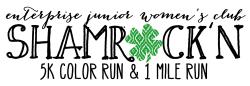 Enterprise Junior Women's Club - SHAMROCK COLOR RUN