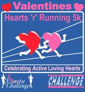 Valentines  - Hearts 'r' Running 5k