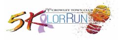 Crowley Town Club 5Kolor Run