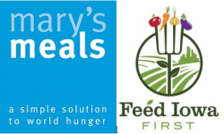 Mary's Meals/Feed Iowa First 5K - Hiawatha -Going Virtual