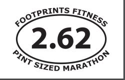 4th Annual Pint Sized Marathon
