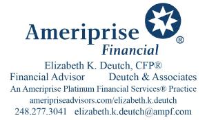 Elizabeth Deutch Ameriprise Financial