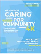 7th Annual Caring Community 4K