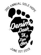 Sole Hope Denim Dash 5K, 1/2 Mile Fun Run and VIRTUAL 5K