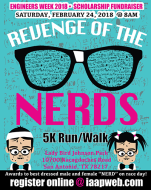 Engineers Week 2018 - Revenge of the Nerds: 5K Run/Walk Scholarship Fundraiser