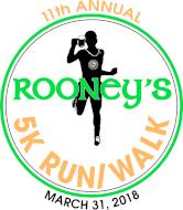 11th Annual Rooney's 5K Run/Walk